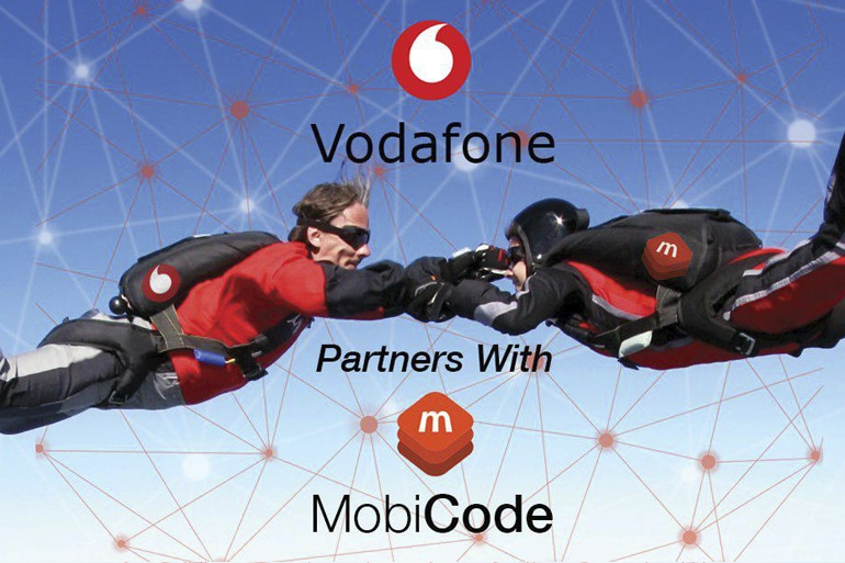 MobiCode and Vodafone partnership
