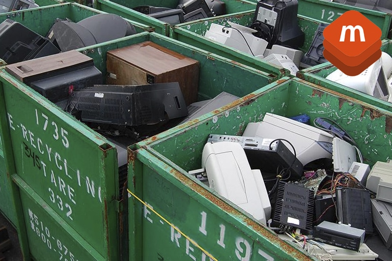E-waste and phone recycling. Mobile Diagnostics Test and Erasure